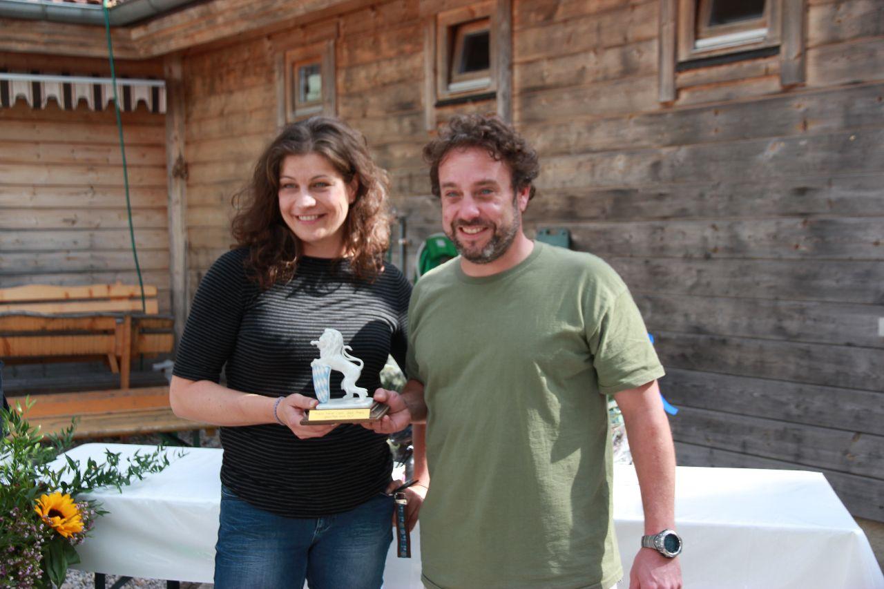 Amir Patzina und Elfriede Eder gewinnen die SCP Oktoberfestregatta und den Franz Xaver Liebl Gedächnispreis