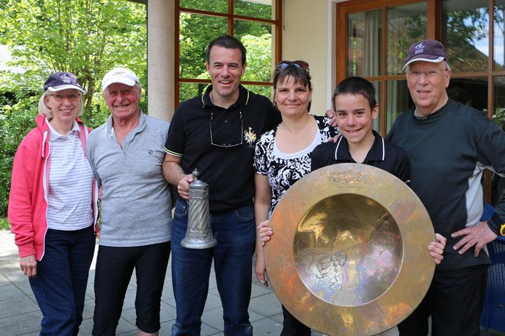 Ammersee-Pokal 2015: SCP holt Mannschaftspreis und Yougsterschüssel. Bild: Dr. Volker Göbner Pressebüro Schreib.W.U.T.